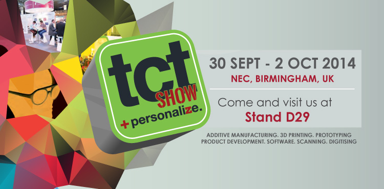 TCT Show - Prototyping and product design from AME-Group