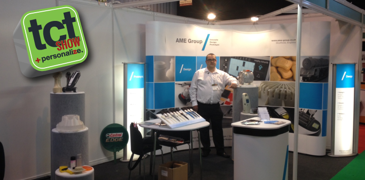 AME Group, Product Design, Rapid Prototyping, TCT 2014
