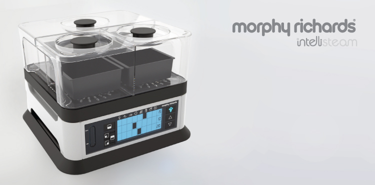 intelisteam, food steamer, morphy richards