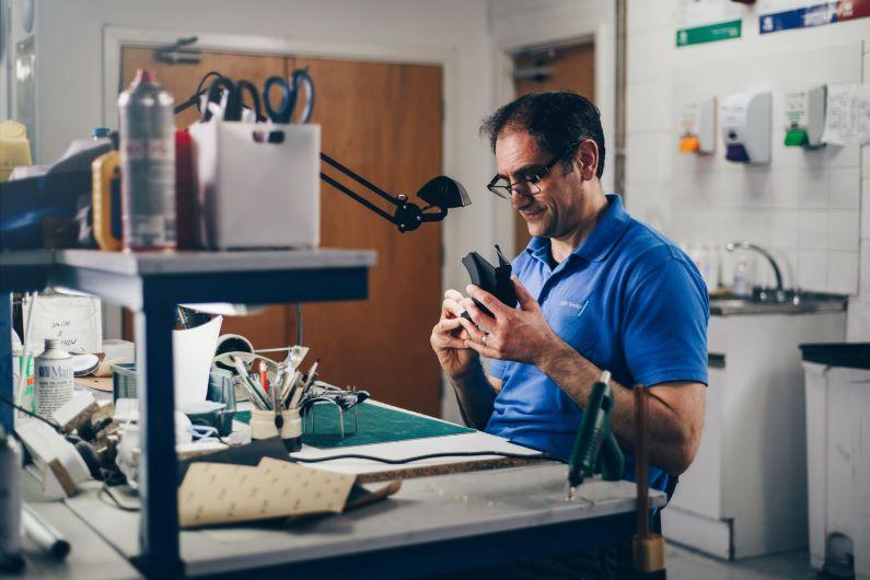 Keith Hadfield model making