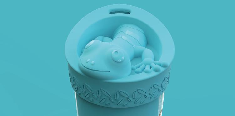 tommee tippee bold design bottle salamander