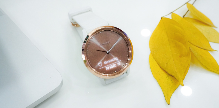 wearable and fashionable fitness watch
